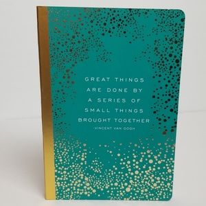 roobee Journal with with Vince Van Gogh Quote